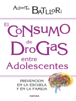 El consumo de drogas entre adolescentes: Prevención en la escuela y en la familia