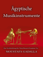 Ägyptische Musikinstrumente