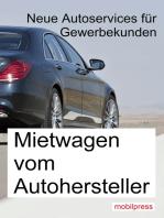 Mietwagen vom Autohersteller