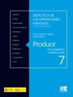 Producir: Una competencia cognitiva y social