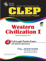 CLEP Western Civilization I - Ancient Near East to 1648