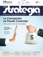 Revista Strategia. Año 11/ Nº 45 (Edición internacional): La corrupción se puede controlar