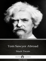 Tom Sawyer Abroad by Mark Twain (Illustrated)