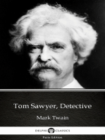 Tom Sawyer, Detective by Mark Twain (Illustrated)