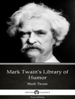 Mark Twain's Library of Humor by Mark Twain (Illustrated)