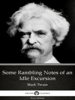 Some Rambling Notes of an Idle Excursion by Mark Twain (Illustrated)
