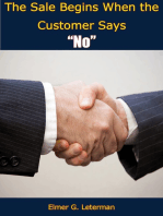 """The Sale Begins When the Customer Says """"No"""""""