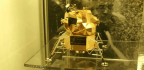 Thieves Take Neil Armstrong's Solid Gold Lunar Module Replica