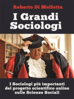 I Grandi Sociologi
