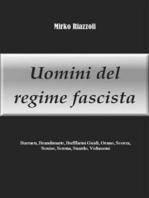 Uomini del regime fascista Barracu, Brandimarte, Buffarini Guidi, Orano, Scorza, Senise, Serena, Suardo, Vidussoni