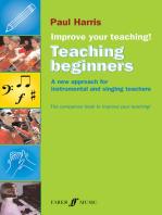 Improve your teaching! Teaching Beginners