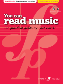 You Can Read Music: The practical guide by Paul Harris