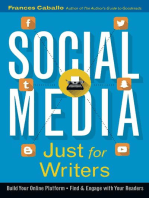 Social Media Just for Writers