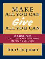 Make All You Can, Give All You Can