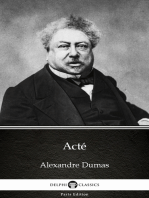 Acté by Alexandre Dumas (Illustrated)
