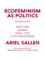 Ecofeminism as Politics