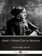 How I Went Out to Service by Louisa May Alcott (Illustrated)