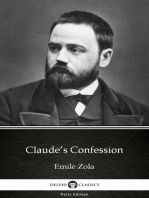Claude's Confession by Emile Zola (Illustrated)