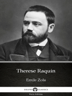 Therese Raquin by Emile Zola (Illustrated)