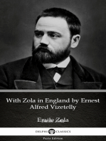 With Zola in England by Ernest Alfred Vizetelly (Illustrated)