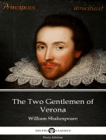 The Two Gentlemen of Verona by William Shakespeare (Illustrated)