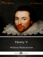 Henry V by William Shakespeare (Illustrated)