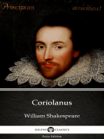 Coriolanus by William Shakespeare (Illustrated)