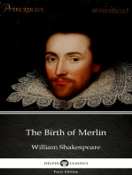 The Birth of Merlin by William Shakespeare - Apocryphal (Illustrated)