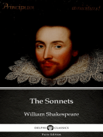 The Sonnets by William Shakespeare (Illustrated)