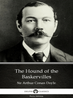 The Hound of the Baskervilles by Sir Arthur Conan Doyle (Illustrated)