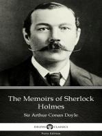 The Memoirs of Sherlock Holmes by Sir Arthur Conan Doyle (Illustrated)