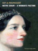 Notre Coeur – A Woman's Pastime (The Classic English Edition)