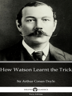 How Watson Learnt the Trick by Sir Arthur Conan Doyle (Illustrated)