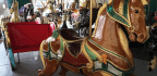 Century-Old Carousel Has One Indiana City Going 'Round And 'Round