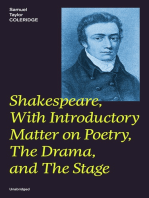 Shakespeare, With Introductory Matter on Poetry, The Drama, and The Stage (Unabridged)