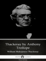 Thackeray by Anthony Trollope (Illustrated)