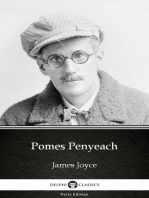 Pomes Penyeach by James Joyce (Illustrated)