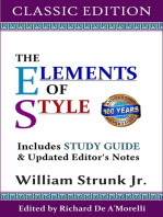The Elements of Style (Classic Edition)