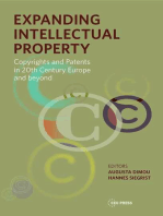 Expanding Intellectual Property: Copyrights and Patents in 20th Century Europe and beyond