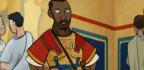 A Cartoon's Black Star Prompts A Fight