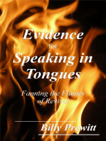 Evidence for Speaking in Tongues
