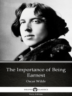 The Importance of Being Earnest by Oscar Wilde (Illustrated)