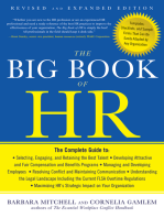 The Big Book of HR, Revised and Updated Edition
