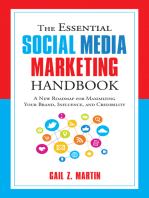 The Essential Social Media Marketing Handbook: A New Roadmap for Maximizing Your Brand, Influence, and Credibility