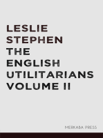 The English Utilitarians Volume II