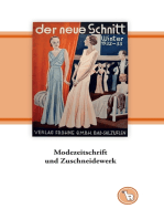 """Modezeitschrift und Zuschneidewerk: Das Schnittmusterjournal """"Frohne Modelle"""" in Schötmar (Lippe)"""
