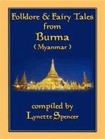 FOLKLORE AND FAIRY TALES FROM BURMA - 21 Old Burmese Folk and Fairy tales