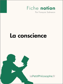La conscience (Fiche notion): LePetitPhilosophe.fr - Comprendre la philosophie