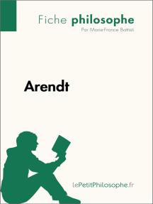 Arendt (Fiche philosophe): Comprendre la philosophie avec lePetitPhilosophe.fr