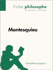 Montesquieu (Fiche philosophe): Comprendre la philosophie avec lePetitPhilosophe.fr